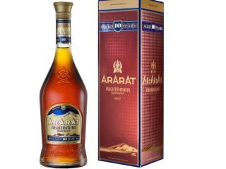 Купить Бренди ARARAT Ахтамар 10 лет выдержки 0.7 л 40% в подарочной упаковке