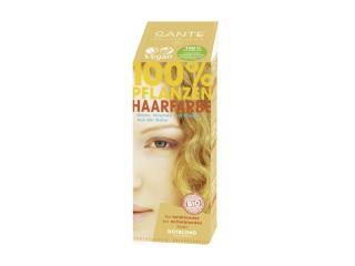 Купить Био-краска-порошок для волос Sante растительная Клубничный Блонд/Strawberry Blonde 100 г