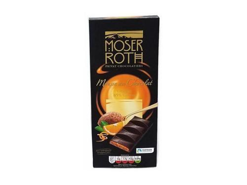 Купить Шоколад черный Moser Roth Mousse au Chocolat Orange с апельсином