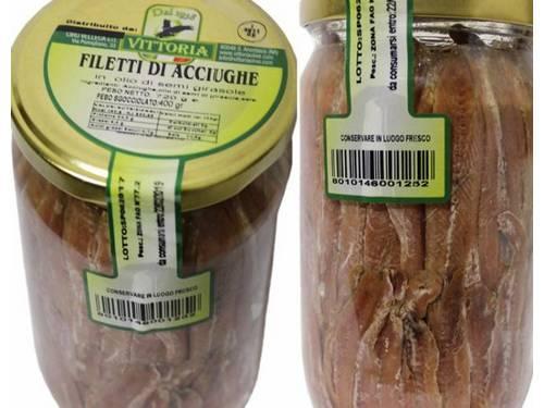 Купить Анчоусы Vittoria Filetti Di Acciughe 140 гр