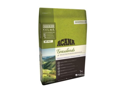 Купить Сухой корм для собак всех пород ACANA Grasslands Dog 2 кг