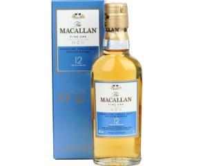 Купить Виски Macallan 12 лет 0.05л