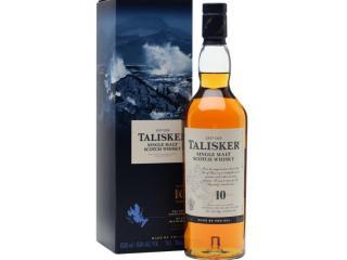 Купить Виски Talisker 10 лет выдержки 0.7 л 45.8%