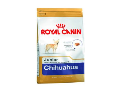 Купить Сухой корм Roayal Canin Chihuahua Junior для щенков породы чихуахуа до 8 месяцев 1.5 кг
