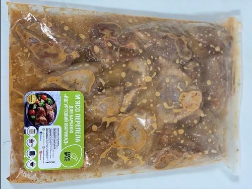 Купить Мясо перепела для барбекю в маринаде из йогурта
