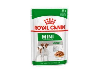Купить Royal Canin Mini Adult кусочки в соусе Влажный корм для собак