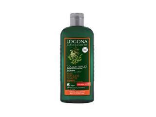 Купить БИО-Шампунь для окрашенных красно-коричневых волос Хна LOGONA, 250 мл