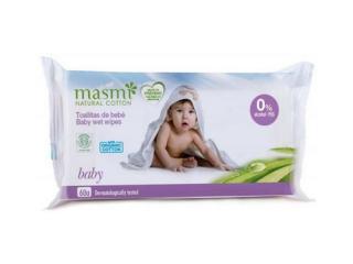 Купить Masmi  органические детские влажные салфетки, 60шт