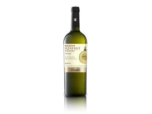 Купить Вино Shabo Reserve Мускат Оттонель десертное белое 0.75 л 16%
