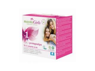 Купить Masmi прокладки GIRL ультратонкие гигиенические для подростков или для поглощения незначительных выделений, с крылышками, 12 шт. (размер 1)