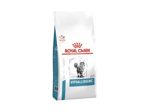 Купить Royal Canin Hypoallergenic Feline лечебный сухой корм для котов 400 гр.