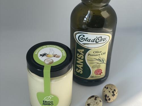 Купить Майонез из перепелинных яиц на оливковом масле