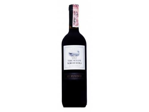 Купить Вино Verga Le Rubinie Nero DAvola Terre Siciliane IGT красное сухое 0.75 л 12.5%