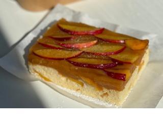 Купить Пирог с персиками 200г