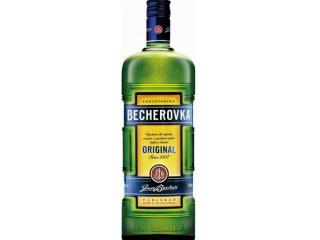 Купить Ликерная настойка на травах Becherovka 1 л 38%