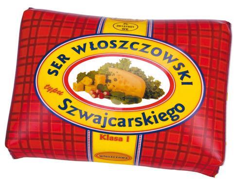 Купить Сыр Швейцарский Wloszczowski Польша