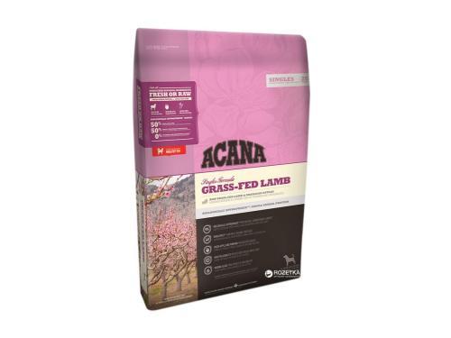 Купить Сухой гипоаллергенный корм для собак всех пород ACANA Grass-Fed Lamb 2 кг