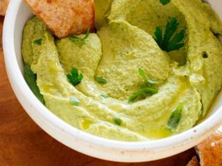 Купить Хумус с зеленью