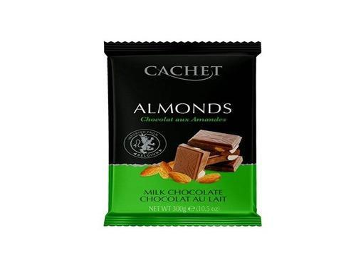 Купить Шоколад  молочный 32% какао с миндалем