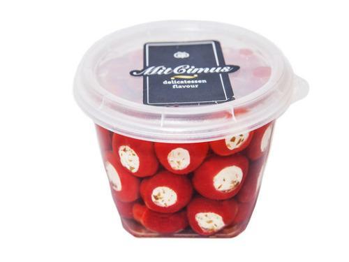 Купить Перец Черри красный с сыром «Фета» 0,43л