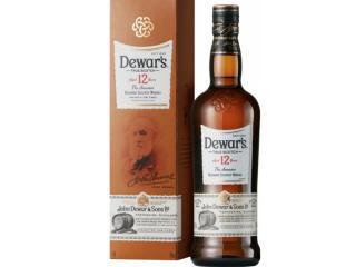 Купить Виски Dewar's 12 лет выдержки 0.7 л 40% в подарочной упаковке