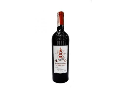 Купить Вино FARO DI MARE MONTEPULCIANO d`ABRUZZO DOC 2017 года красное сухое 0,75л