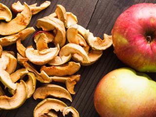 Купить Сушеные летние яблоки из сада (для узвара)