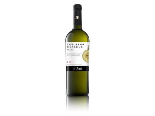 Купить Вино Shabo Reserve Тельти-Курук сухое белое 0.75 л 12.6%