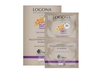 Купить БИО-маска Logona для глубокого увлажнения кожи против морщин 2 х 7.5 мл