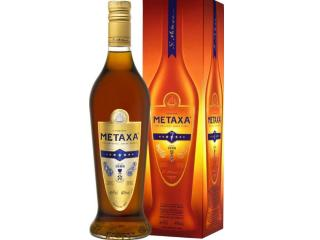 Купить Бренди Metaxa 7* 0.7 л 40% в подарочной упаковке