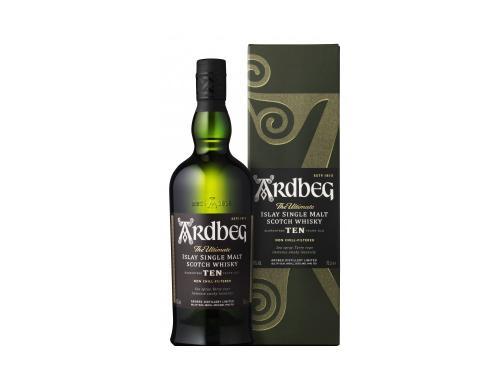 Купить Виски Ardbeg 10 лет выдержки 0.7 л 46%