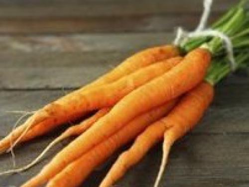 Купить Морковь молодая с ботвой
