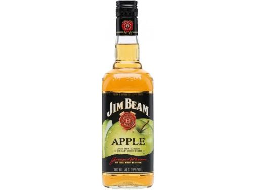 Купить Крепкий ликер Jim Beam Apple, 1,0л.
