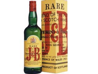 Купить Виски J&B Rare выдержка 4 года 1 л 40% в подарочной упаковке
