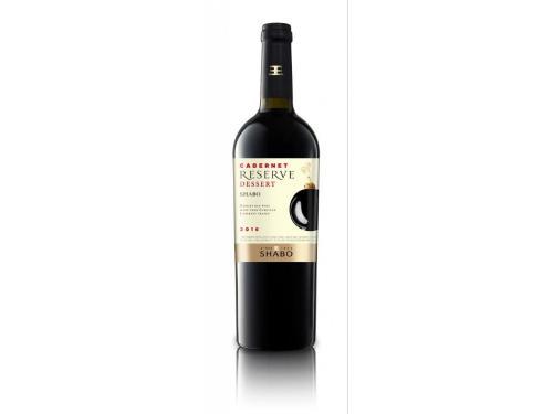 Купить Вино Shabo Reserve Каберне десертное красное 0.75 л 16%