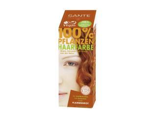 Купить Био-краска-порошок для волос Sante растительная Красное пламя/Flame Red 100 г