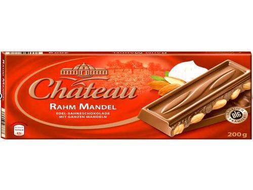 Купить Шоколад молочный с миндалем Chateau