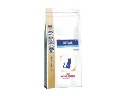 Купить Сухой корм Royal Canin Renal Special Dry для взрослых котов с хронической почечной недостаточностью 2 кг