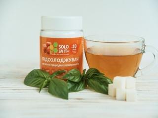 Купить Заменитель сахара Solosvit+, в 10 раз слаще сахара