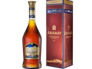 Купить Бренди ARARAT Ахтамар 10 лет выдержки 0.5 л 40% в подарочной упаковке