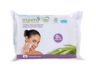 Купить Masmi  органические влажные салфетки для удаления макияжа, 20шт