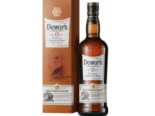 Купить Виски Dewar's Special Reserve 12 лет выдержки 1 л 40% в подарочной упаковке