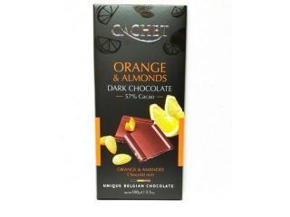 Купить Шоколад Cachet Dark Orange & Almonds