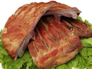 Купить Ребрышки свиные в/к в газ. уп. ОПТ