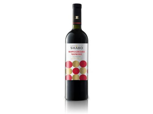 Купить Вино Shabo Classic Королевское полусладкое красное 0.75 л 9-12%