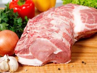 Купить Свинина домашняя, корейка (биток) без кости ОПТ
