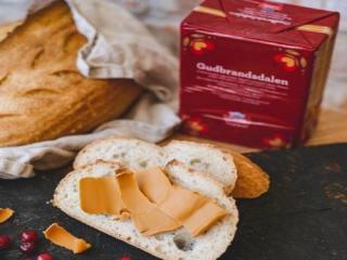 Купить Норвежский карамельный сыр GUDBRANDSDALEN