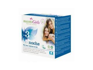 Купить Masmi прокладки GIRL ультратонкие гигиенические для подростков или для поглощения незначительных выделений, с крылышками, 12 шт. (размер 3)