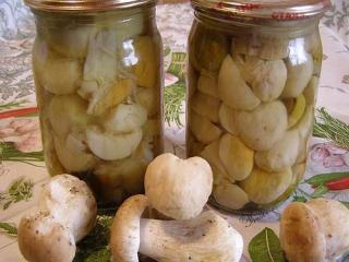 Купить Маринованные белые грибы