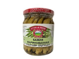 Купить Бамия Avshar Prod в стеклянной банке 520 г
